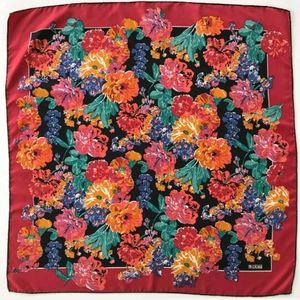 Liberty of London Floral Silk Scarf, 34x34 inch